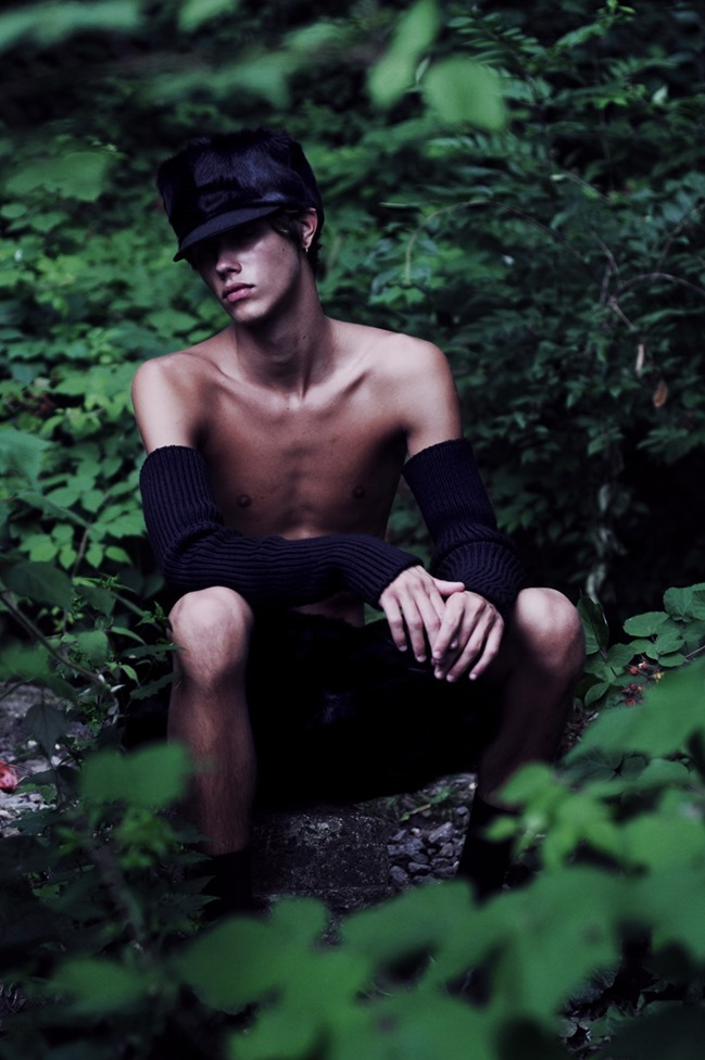 ELSEWHERE MAGAZINE Joel Wolfe by Hadar Pitchon. Marc Anthony George, Spring 2015, www.imageamplified.com, Image amplified (1)