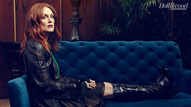 THE HOLLYWOOD REPORTER Julianne Moore by Miler Mobley. February 2015, www.imageamplified.com, Image Amplified (3)