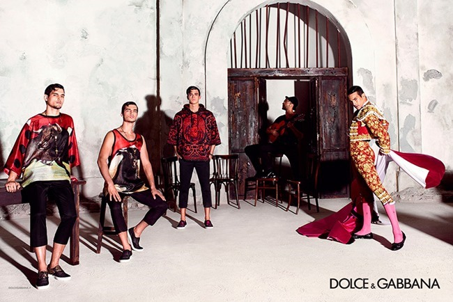 CAMPAIGN Dolce & Gabbana Spring 2015 by Domenico Dolce. www.imageamplified.com, Image Amplified (4)