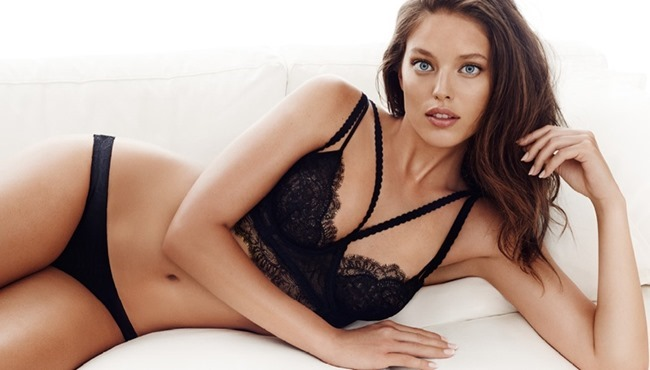 CAMPAIGN Emily DiDonato for H&M LIngerie 2015. www.imageamplified.com, Image Amplified (1)