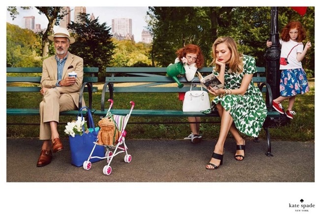 CAMPAIGN Karlie Kloss & Iris Apfel for Kate Spade Spring 2015 by Emma Summerton. www.imageamplified.com, Image Amplified (5)