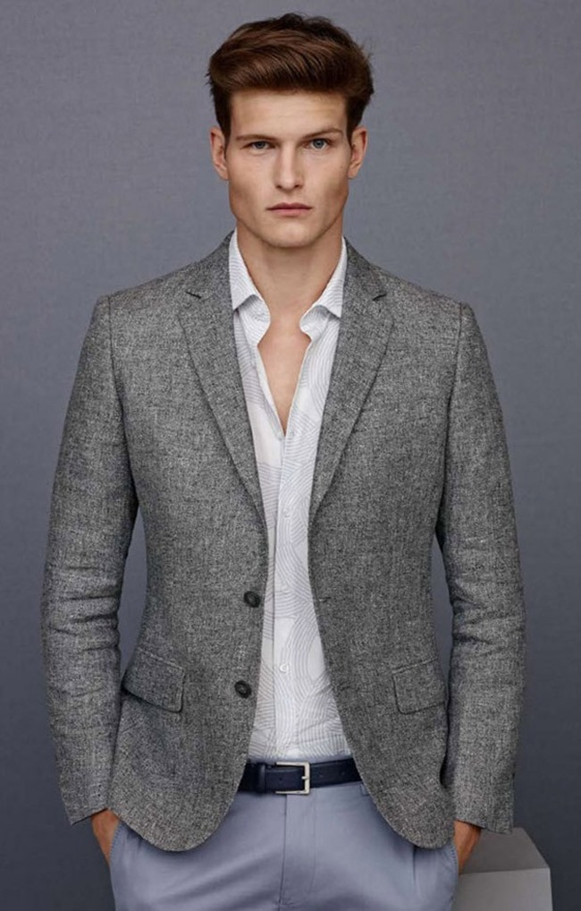 CAMPAIGN Matthew Holt & John Todd for Reiss Menswear Collection Spring 2015. www.imageamplified.com, Image Amplified (2)