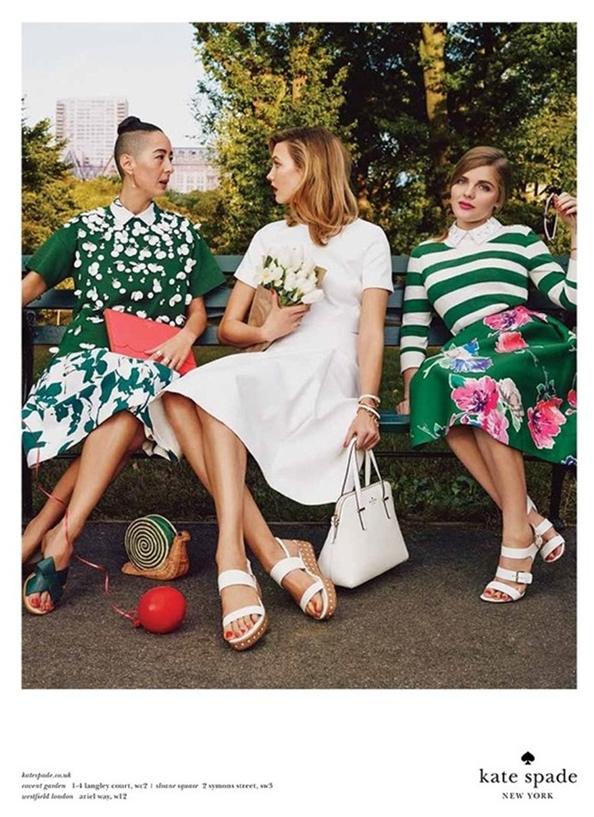 CAMPAIGN Karlie Kloss & Iris Apfel for Kate Spade Spring 2015 by Emma Summerton. www.imageamplified.com, Image Amplified (7)