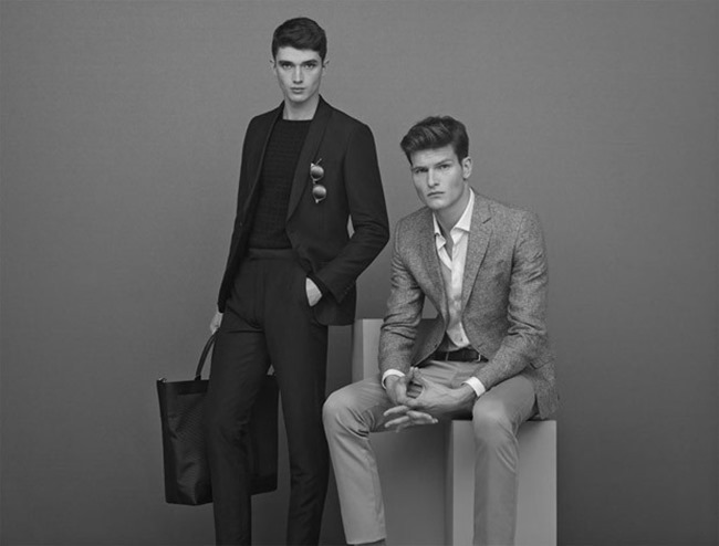 CAMPAIGN Matthew Holt & John Todd for Reiss Menswear Collection Spring 2015. www.imageamplified.com, Image Amplified (4)