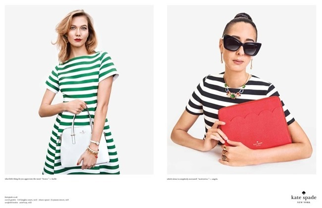CAMPAIGN Karlie Kloss & Iris Apfel for Kate Spade Spring 2015 by Emma Summerton. www.imageamplified.com, Image Amplified (2)