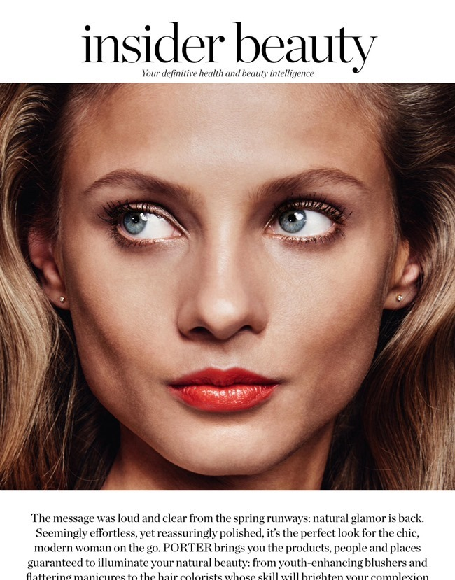 PORTER MAGAZINE Anna Selezneva by Chris Colls. Morgan Pilcher, Spring 2015, www.imageamplified.com, Image Amplified (1)