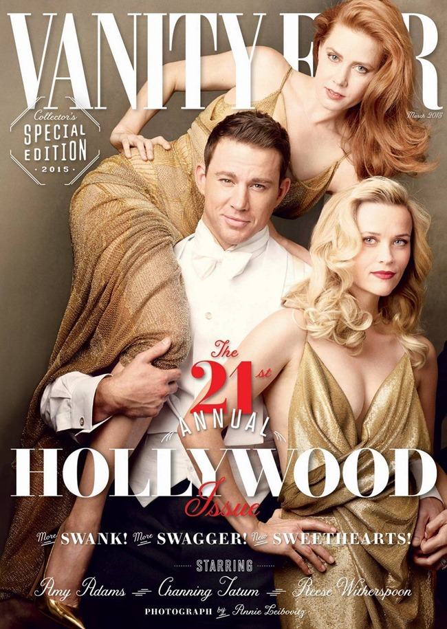 VANITY FAIR MAGAZINE The Hollywood Issue by Annie Leibovitz. March 2015, www.imageamplified.com, Image Amplified (1)