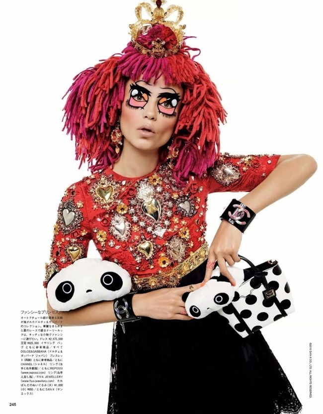 VOGUE JAPAN Natasha Poly by Gimapaolo Sgura. Anna Dello Russo, March 2015, www.imageamplified.com, Image Amplified (5)