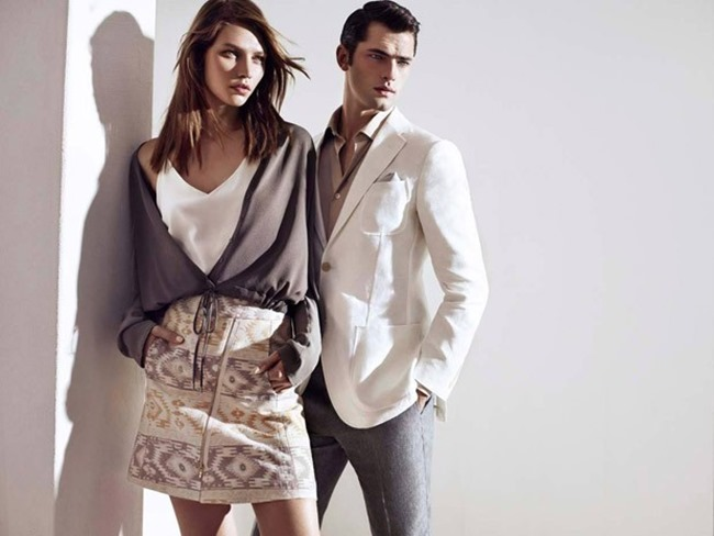 CAMPAIGN Sean O'Pry & Aline Weber for Sarar Spring 2015 by Umit Savaci, Tom Van Dorpe, www.imageamplified.com, Image Amplified (2)