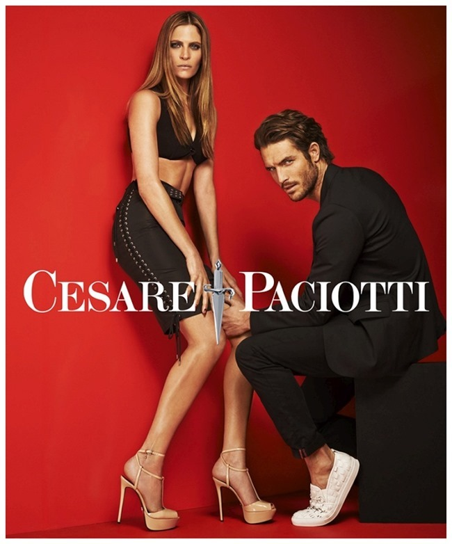 CAMPAIGN Justin Joslin & Frankie Rayder for Cesare Paciotti Spring 2015 by Mariano Vivanco. www.imageamplified.com, Image Amplified (3)
