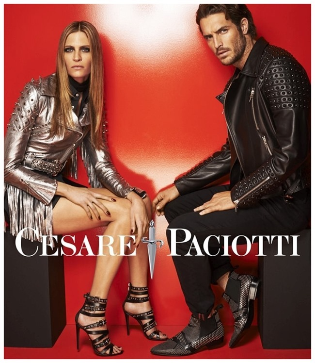 CAMPAIGN Justin Joslin & Frankie Rayder for Cesare Paciotti Spring 2015 by Mariano Vivanco. www.imageamplified.com, Image Amplified (2)