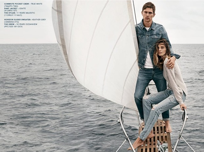 CAMPAIGN Mathias Lauridsen & Daria Werbowy for AG Jean Spring 2015 by Lachlan Bailey. Alastair McKimm, www.imageamplified.com, Image Amplified (6)