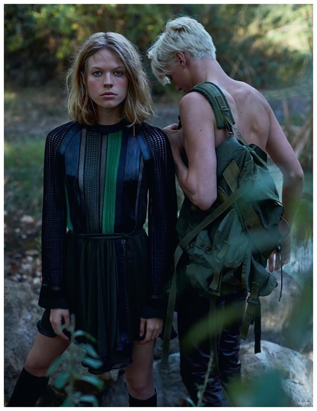 ELLE UK Darby Stephens & Chaun by Kai Z Feng. Anne-Marie Curtis, Spring 2015, www.imageamplified.com, Image Amplified (7)