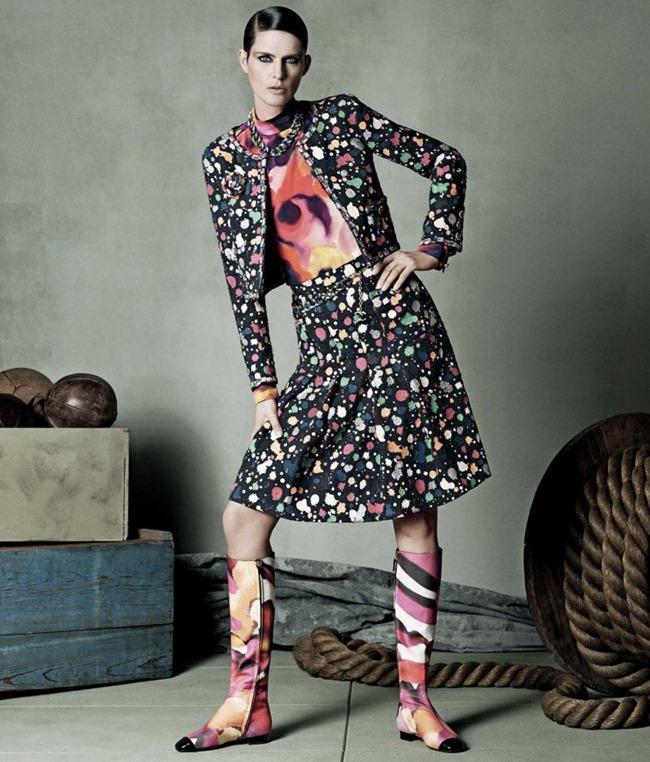 LOOKBOOK Stella Tennant for Neiman Marcus Spring 2015 by Iango & Luigi. www.imageamplified.com, Image Amplified (5)