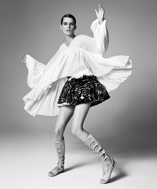 LOOKBOOK Stella Tennant for Neiman Marcus Spring 2015 by Iango & Luigi. www.imageamplified.com, Image Amplified (8)