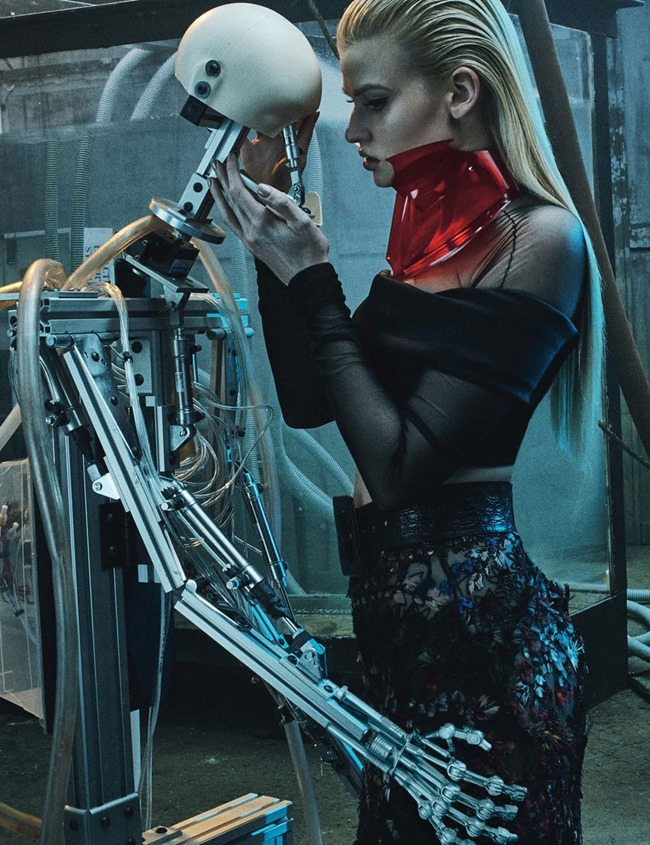 W MAGAZINE Lara Stone by Steven Klein. Edward Enninful, March 2015, www.imageamplified.com, Image Amplified (8)