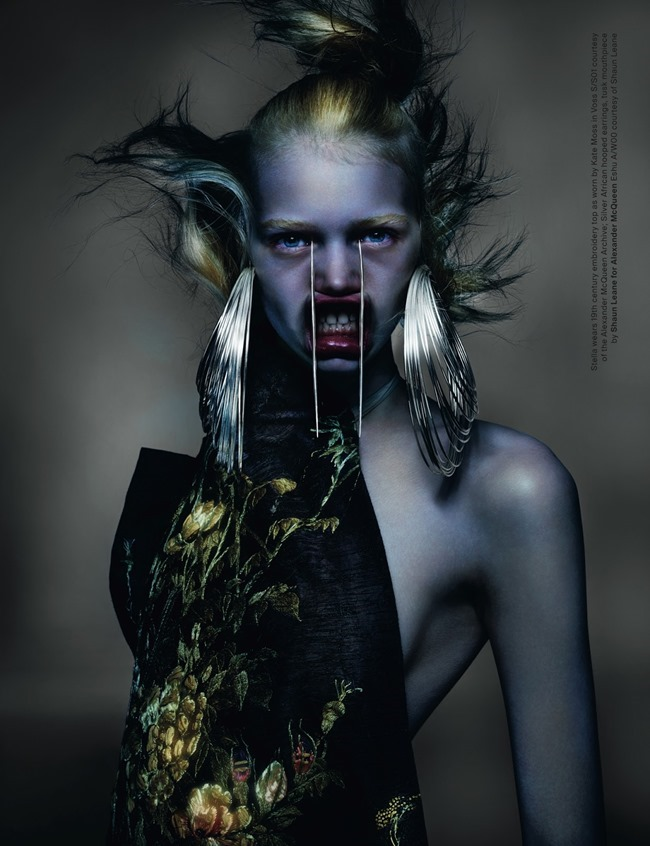 ANOTHER MAGAZINE McQueen by Nick Knight. Katy England, Spring 2015, www.imageamplified.com, Image Amplified (1)