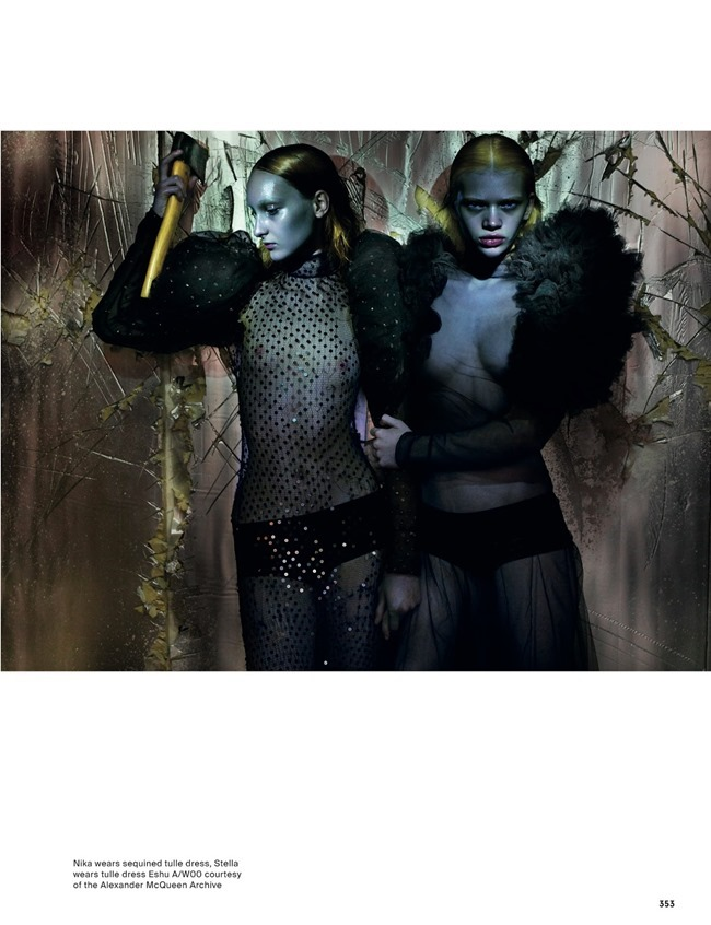 ANOTHER MAGAZINE McQueen by Nick Knight. Katy England, Spring 2015, www.imageamplified.com, Image Amplified (13)