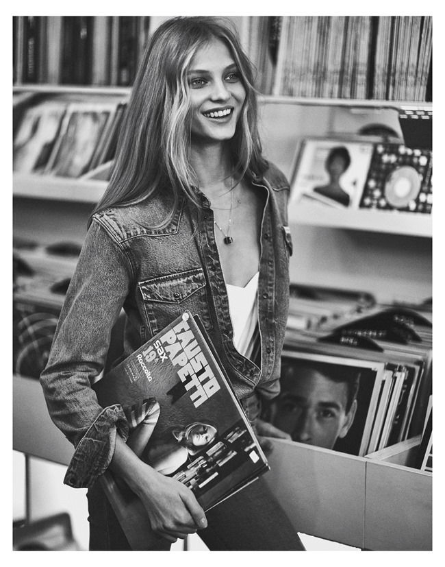 MIXTE MAGAZINE Anna Selezneva by Emma Tempest. Dimphy den Otter, Spring 2015, www.imageamplified.com, Image Amplified (1)