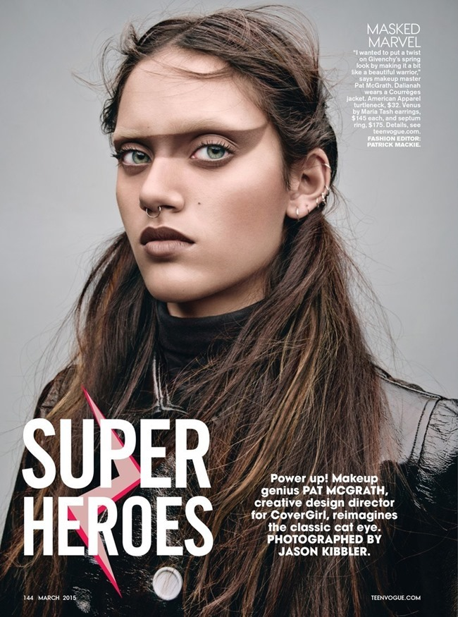 TEEN VOGUE Super Heroes by Jason Kibbler. Patrick Mackie, March 2015, www.imageamplified.com, Image Amplified (2)