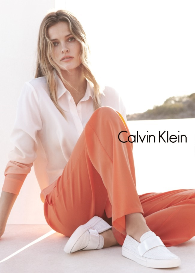 CAMPAIGN Edita Vilkeviciute & Tyson Ballou for Calvin Klein White Label Spring 2015 by Daniel Jackson. Tony Irvine, www.imageamplified.com, Image Amplified (6)