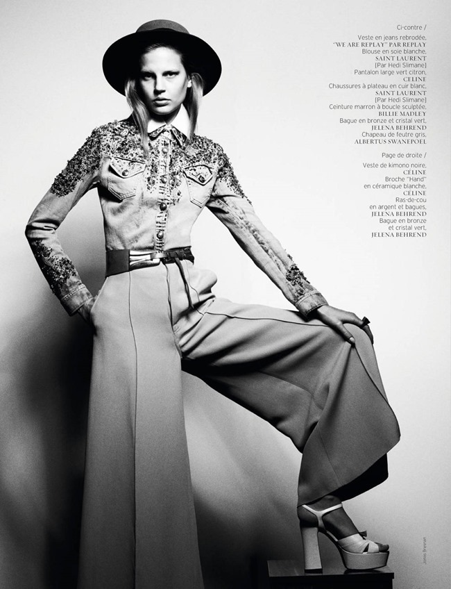 FRENCH REVUE DE MODES Elisabeth Erm by Jonas Bresnan. Marcell Rocha, Spring 2015, www.imageamplified.com, Image Amplified (5)