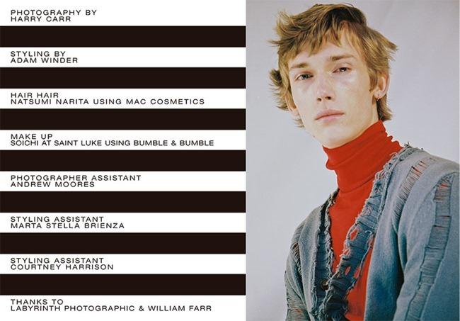 HUNTER MAGAZINE Truls Martinsson by Harry Carr. Adam Winder, Spring 2015, www.imageamplified.com, Image Amplified (1)