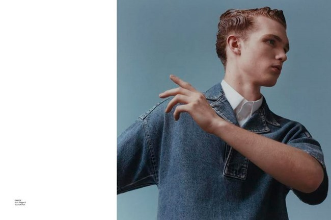 L'OFFICIEL HOMMES NETHERLANDS Transmission by Andrew Vowles. Raphael Hirsch, Spring 2015, www.imageamplified.com, Image Amplified (2)