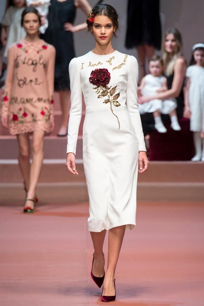 MILAN FASHION WEEK Dolce & Gabbana Fall 2015. www.imageamplified.com, Image Amplified (1)