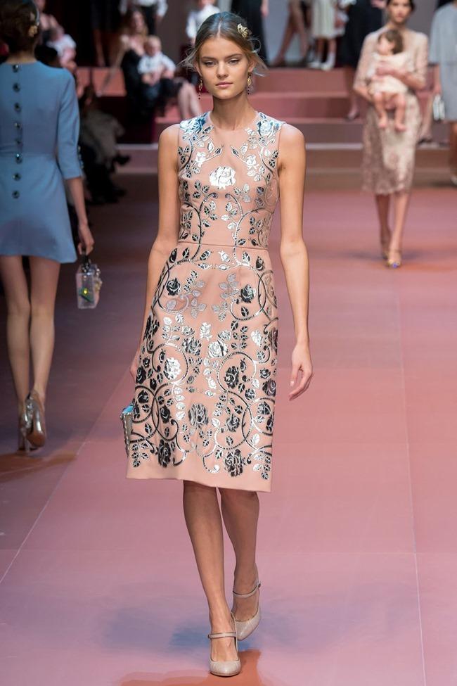 MILAN FASHION WEEK Dolce & Gabbana Fall 2015. www.imageamplified.com, Image Amplified (7)