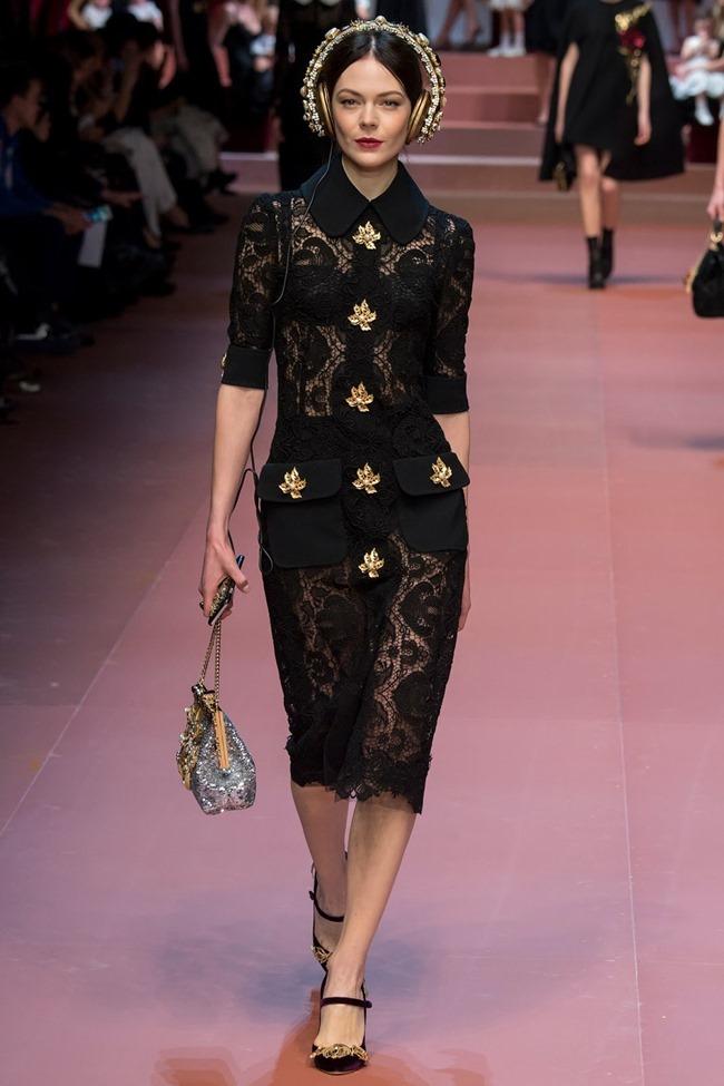 MILAN FASHION WEEK Dolce & Gabbana Fall 2015. www.imageamplified.com, Image Amplified (38)