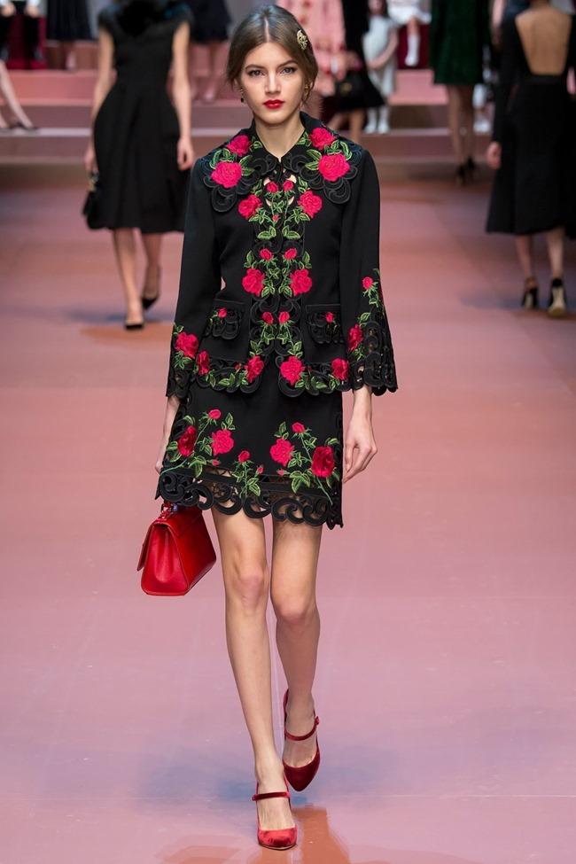 MILAN FASHION WEEK Dolce & Gabbana Fall 2015. www.imageamplified.com, Image Amplified (52)