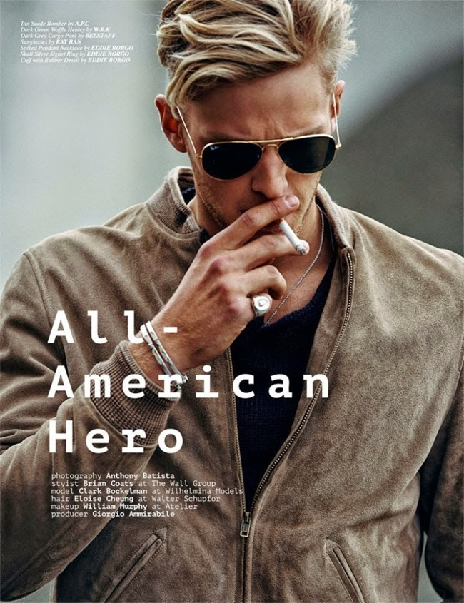 CLIENT MAGAZINE Clarke Wesley Bockelman by Anthony Batista. Brian Coats, Spring 2015, www.imageamplified.com, Image amplified (2)