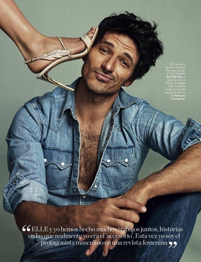 ELLE SPAIN Andres Velencoso & Marta Espanol by Xavi Gordo. April 2015, www.imageamplified.com, Image Amplified (5)