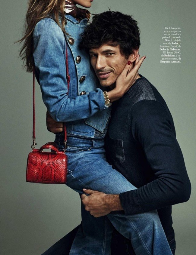 ELLE SPAIN Andres Velencoso & Marta Espanol by Xavi Gordo. April 2015, www.imageamplified.com, Image Amplified (6)