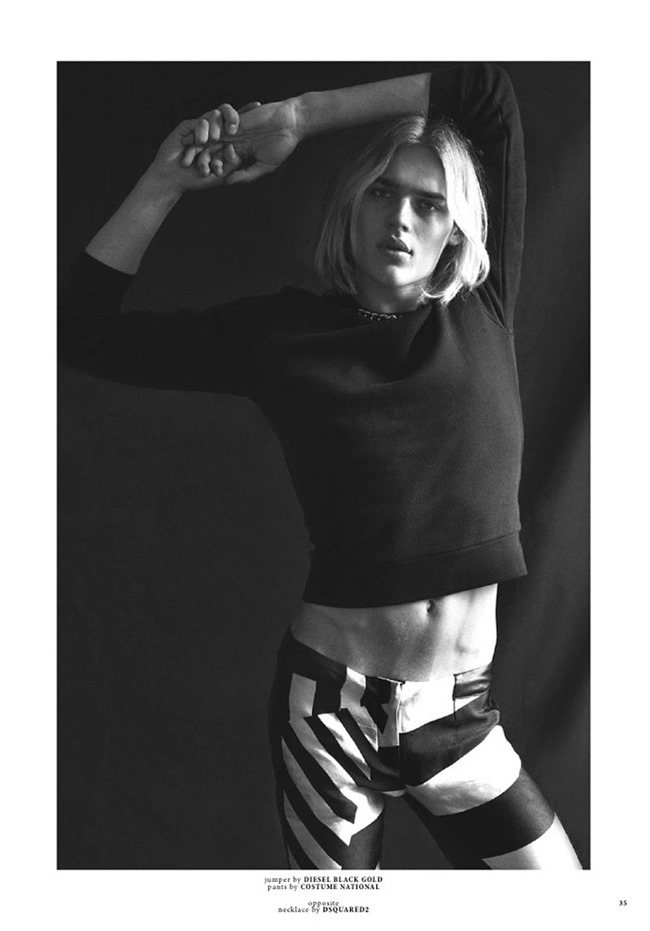 CLIENT MAGAZINE Ton Heukels by Emmanuel Giraud. Fleur Huynh Evans, spring 2015, www.imageamplified.com, Image Amplified (1)