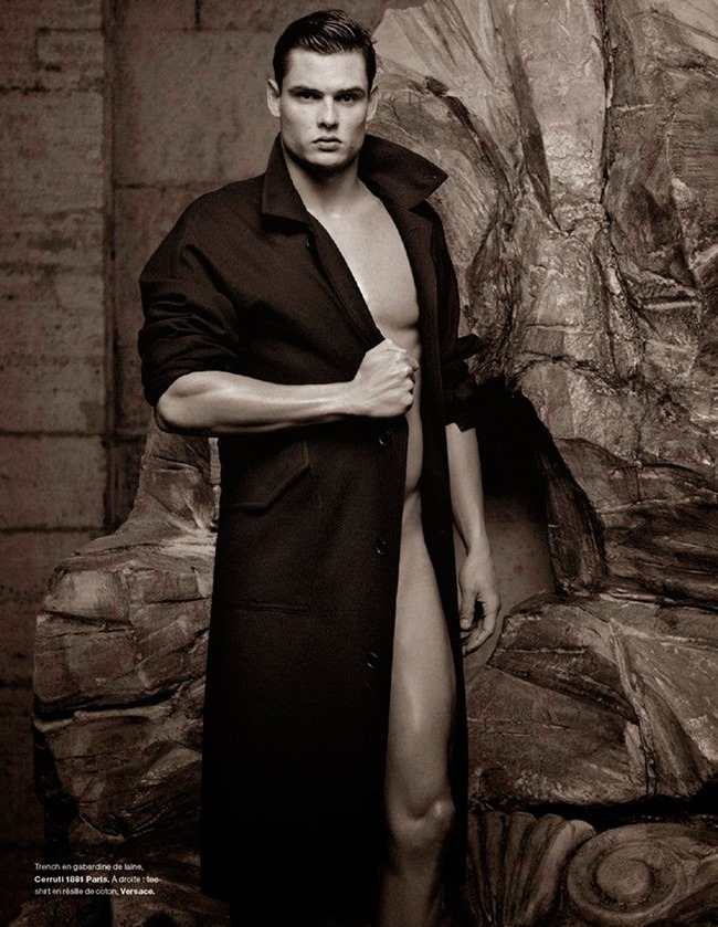 NUMERO HOMME Florent Manaudou by Karl Lagerfeld. Spring 2015, www.imageamplified.com, Image Amplified (5)
