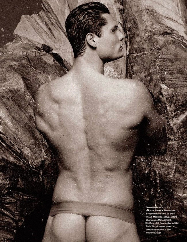 NUMERO HOMME Florent Manaudou by Karl Lagerfeld. Spring 2015, www.imageamplified.com, Image Amplified (7)