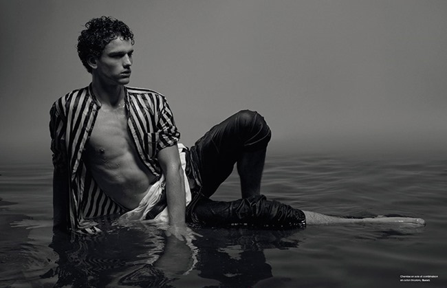 NUMERO HOMME Simon Nessman by Jean-Baptiste Mondino. Spring 2015, www.imageamplified.com, Image Amplified (11)