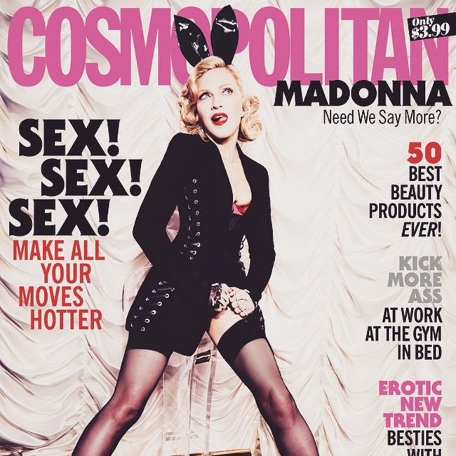PREVIEW Madonna for Cosmopolitan Magazine, May 2015 by Ellen von Unwerth. Spring 2015, www.imageamplified.com, Image Amplified (6)