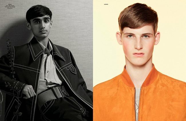 ANOTHER MAN MAGAZINE 2015 Collections by Benjamin Alexander Huseby. Ellie Grace Cumming, Spring 2015, www.imageamplified.com, Image Amplified (14)
