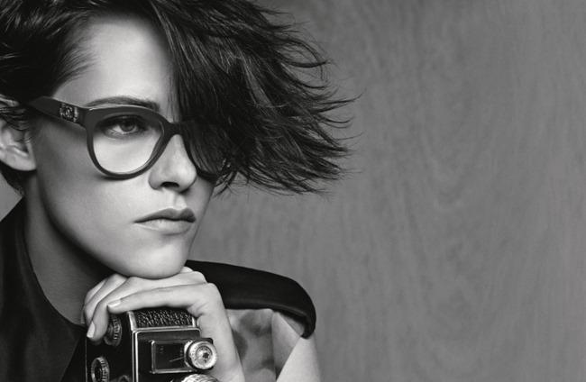 CAMPAIGN Kristen Stewart for Chanel Eyewear Spring 2015 by Karl Lagerfeld. www.imageamplified.com, Image Amplified (2)