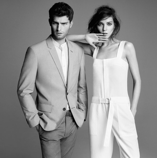 CAMPAIGN Paolo Anchisi for Club Monaco Spring 2015 by Inez & Vinoodh. www.imageamplified.com, Image Amplified (1)