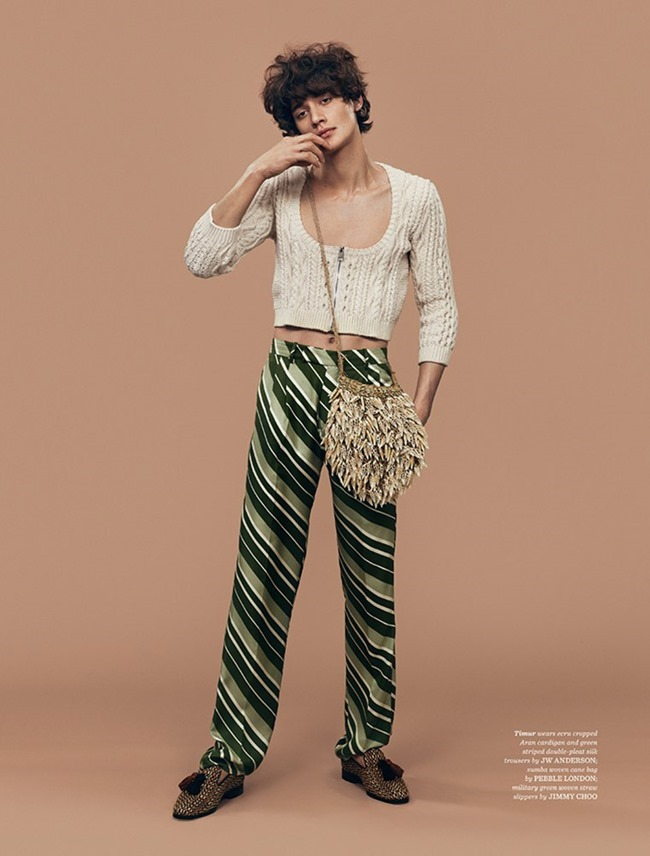 GQ STYLE UK Le Freak Cest Chic by Thomas Cooksey. Jo Levin, Spring 2015, www.imageamplified.com, IMage Amplified (6)
