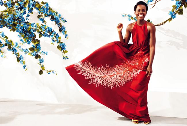 HARPER'S BAZAAR UK Lupita Nyong'o by Alexi Lubomirski. Miranda Almond, May 2015, www.imageamplified.com, Image Amplified (1)