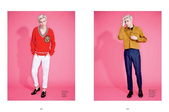 L'OFFICIEL HOMMES Lucky Blue Smith by Andrew hail. Helena Tejedor, Spring 2015, www.imageamplified.com, Image Amplified (11)