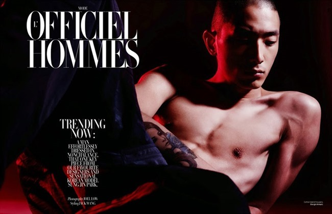 L'OFFICIEL HOMMES SINGAPORE Sung Jin Park by Joel Low. Jack Wang, Spring 2015, www.imageamplified.com, Image Amplified (1)