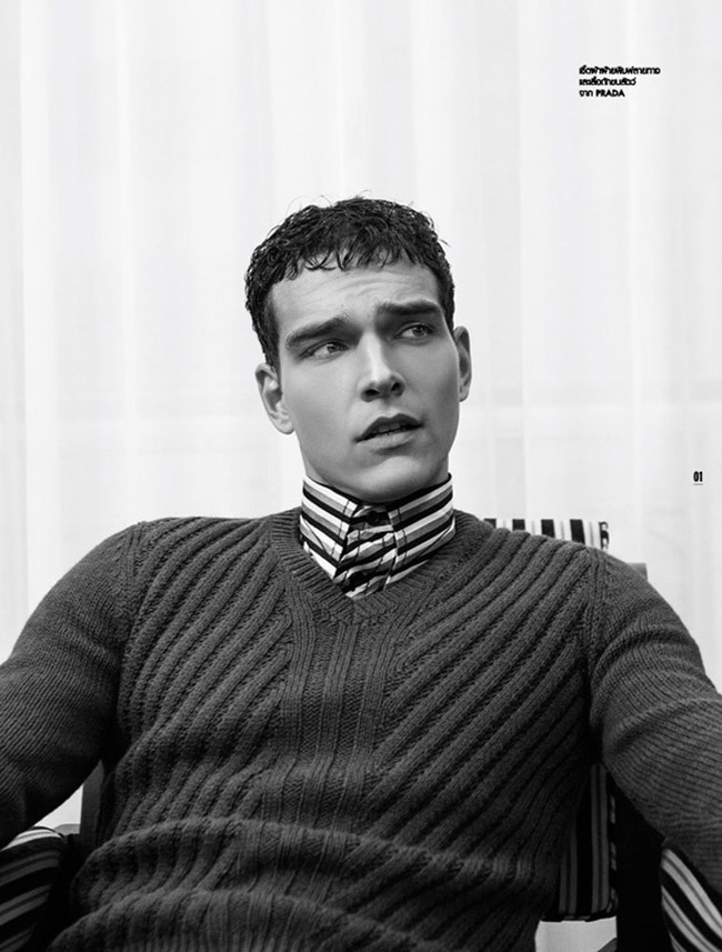 L'OFFICIEL HOMMES THAILAND Alexandre Cunha by Robin Galiegue. Spring 2015, www.imageamplified.com, Image Amplified (1)