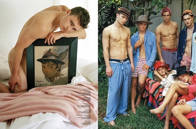VMAN MAGAZINE Spring is Coming by Bruce Weber. Spring 2015, www.imageamplified.com, Image Amplified (7)