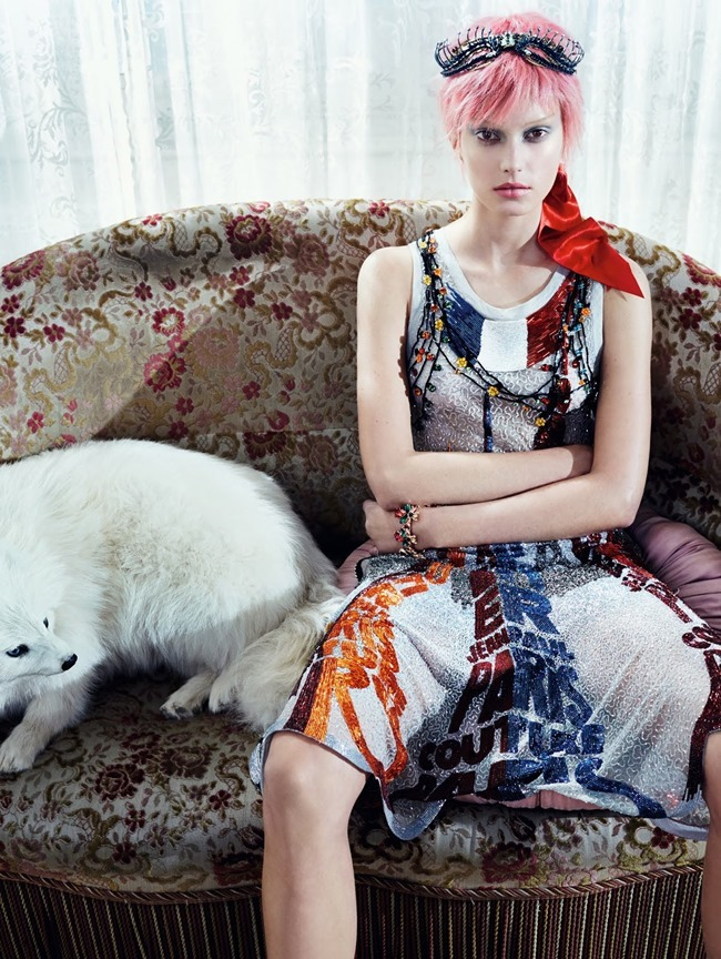 VOGUE CHINA COLLECTIONS Sigrid Agren by Emma Summerton. Cathy Kasterine, April 2015, www.imageamplified.com, Image Amplified (6)